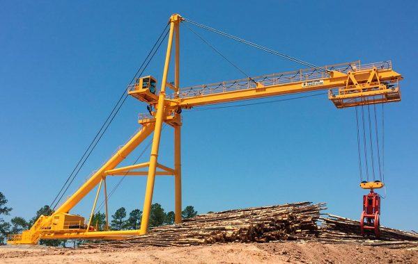 FULGHUM 170ft RADIAL LOG CRANE