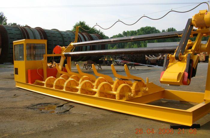 FULGHUM E-1000 ROSSERHEAD DEBARKER