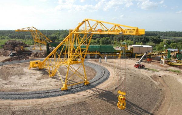 FULGHUM 155ft RADIAL LOG CRANE